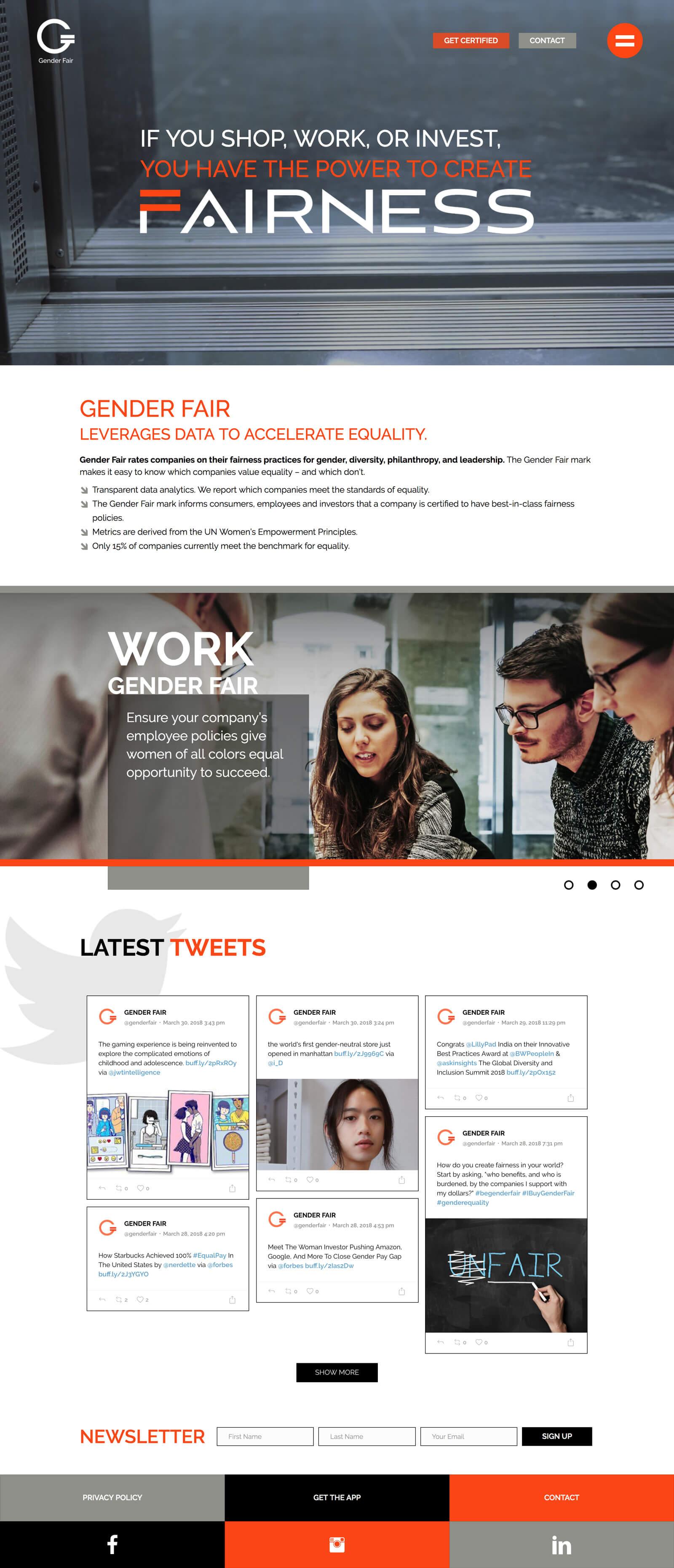 Gender Fair Homepage