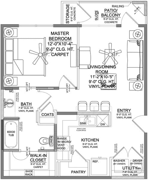 Churchill at Golden Triangle Floorplan A2