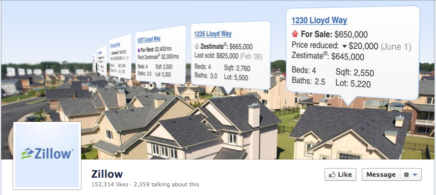 real estate social media facebook
