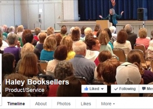 Haley Booksellers - Facebook