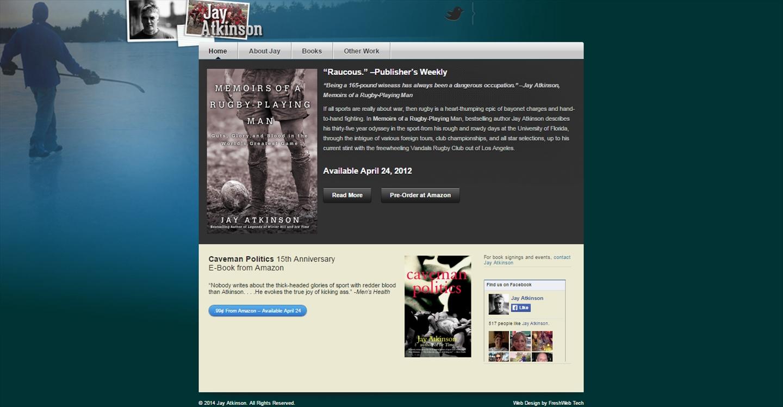 Jay Atkinson – Website