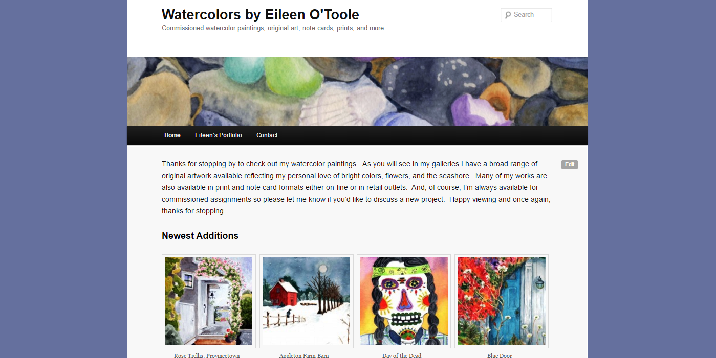 Watercolors by Eileen O'Toole