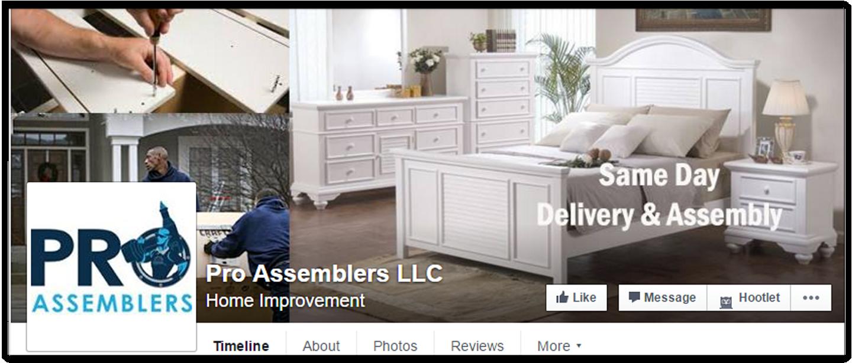 Pro Assemblers LLC – Facebook