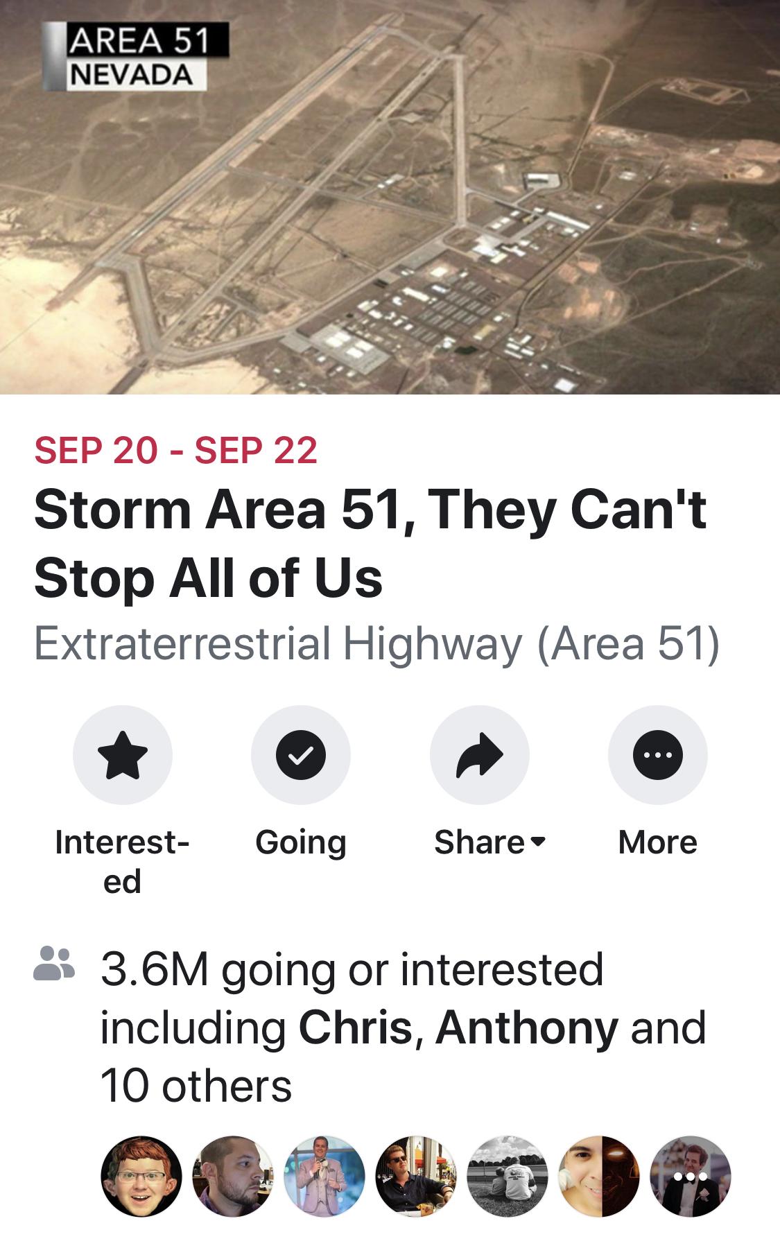 The Joke That Became Real: Raiding Area 51