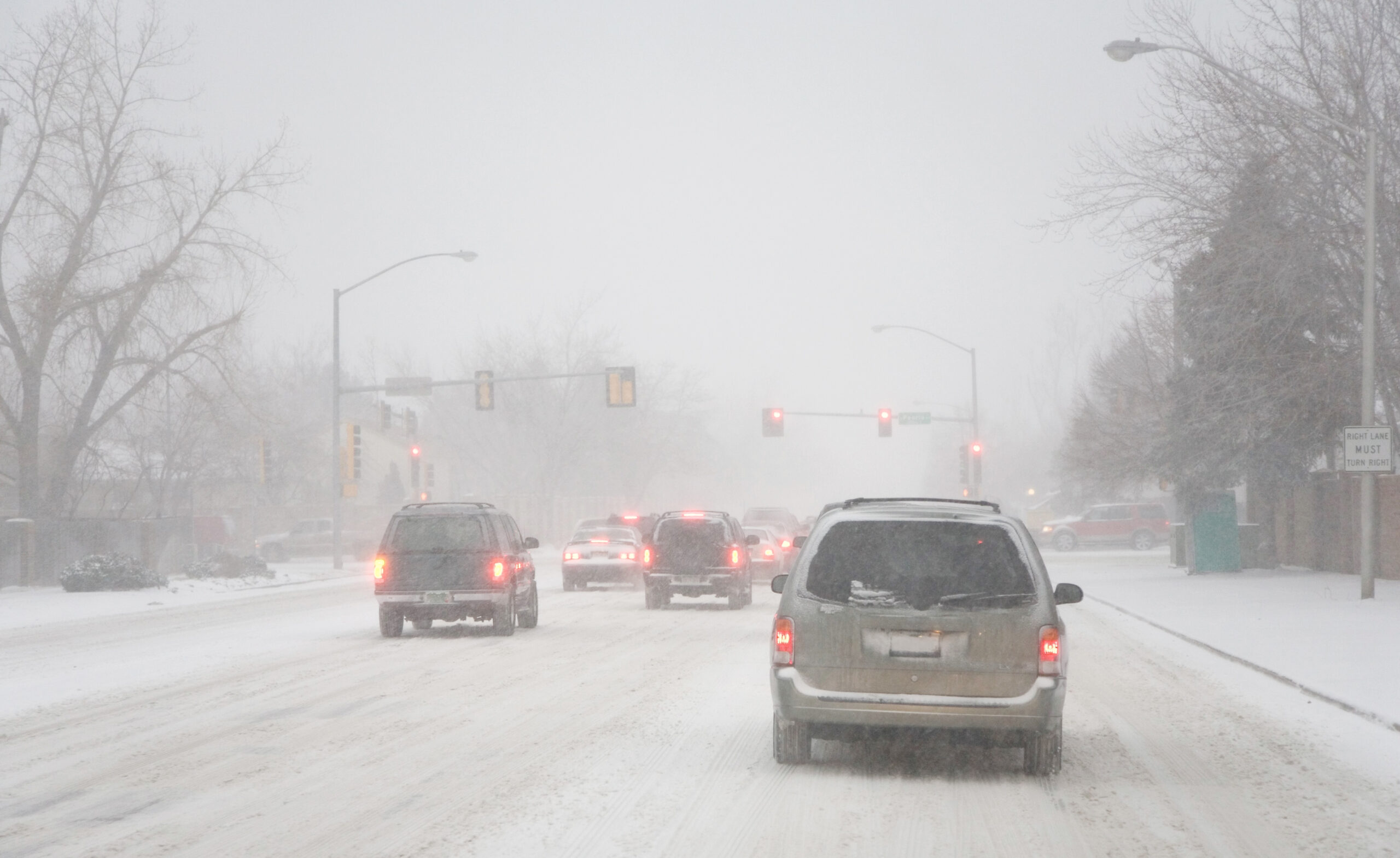 How to Drive Safely on Slick, Snowy Roads