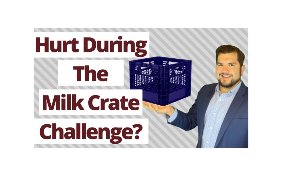 Assuming the Risk of the Milk Crate Challenge