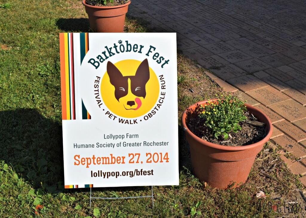 Lollypop Farm's Barktober Fest will be held on September 27, 2014