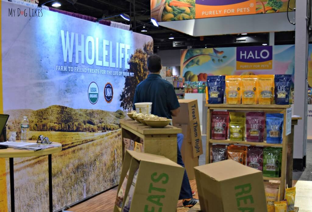 Whole Life offers a wide variety of freeze dried dog treats