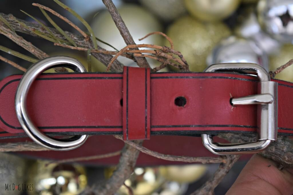 Make sure to check out these cool dog collars from RUHA - these leather collars are customized and laser engraved!