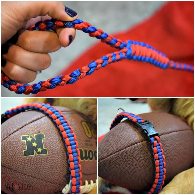 Paracord Dog Collars and Leashes from Pudin's Paw!
