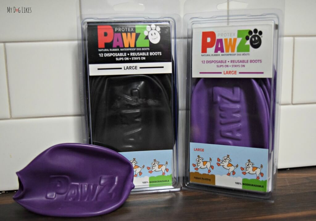 Pawz dog boots for summer heat protection