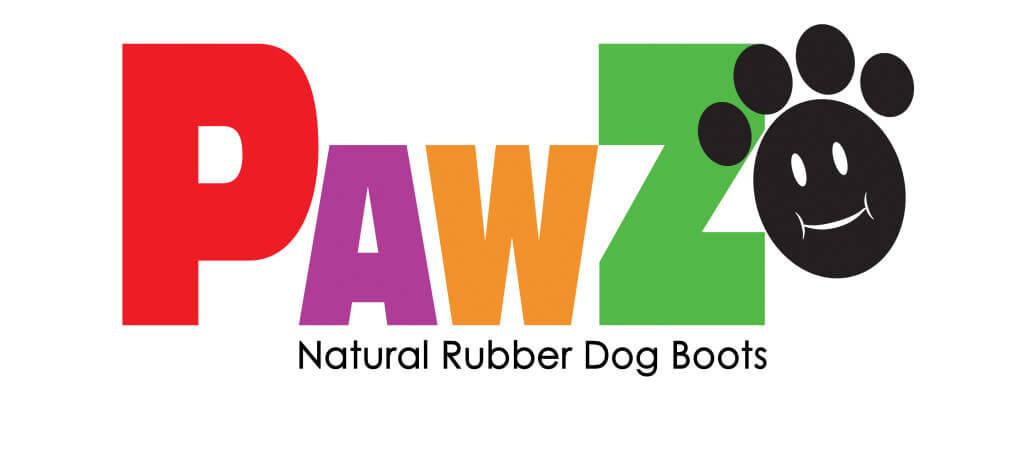 Pawz rubber dog boots logo