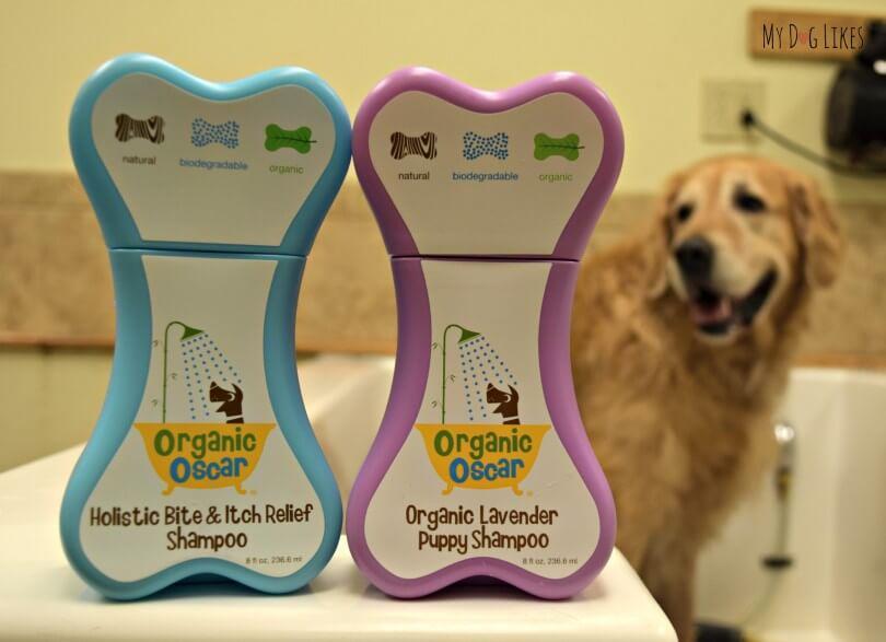 MyDogLikes reviews Organic Oscar dog shampoos