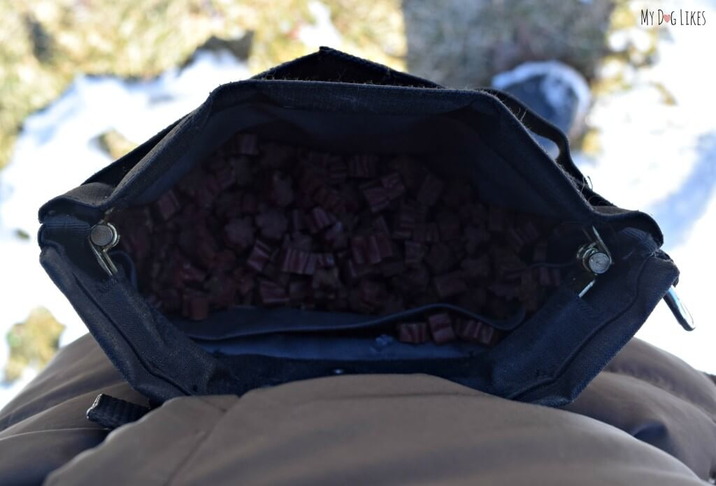 """Treat pouches make training so much easier by putting the treats conveniently """"hands-free"""" right at your side."""