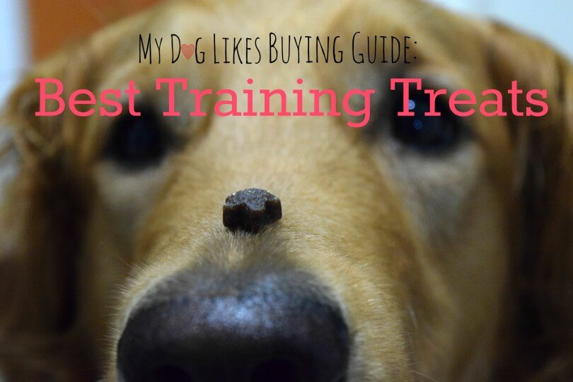 A high value and low calorie treat is key to successful dog training. Click here to read MyDogLikes official list of the best dog training treats!