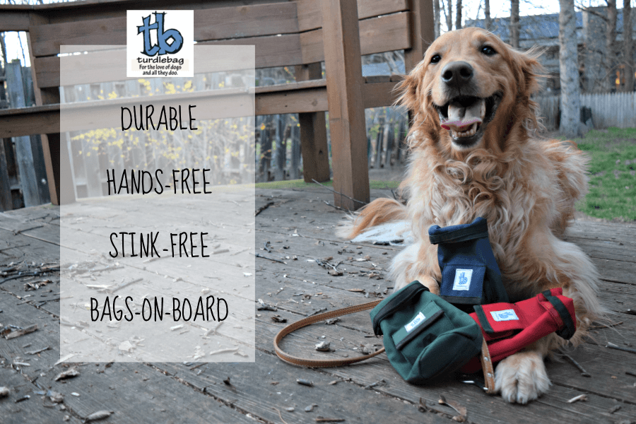 MyDogLikes reviews the Turdlebag - a convenient solution to a stinky problem!