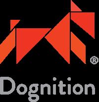 Transparent background logo for Dognition