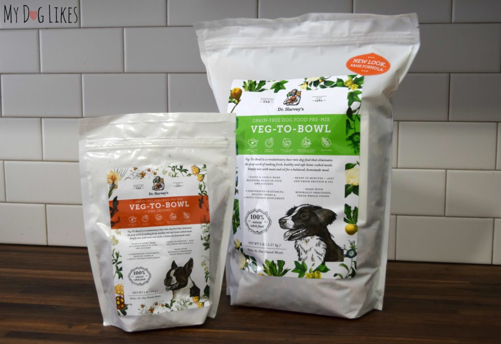 Learn how to make easy homemade dog food with the help of Dr. Harvey's Veg-to-Bowl