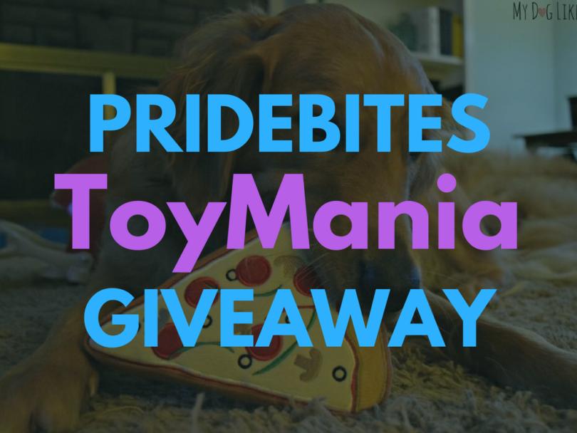 TOYMANIA! - PrideBites Giveaway hosted by MyDogLikes