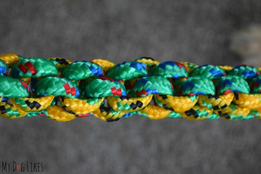 Durable braided rope dog toy