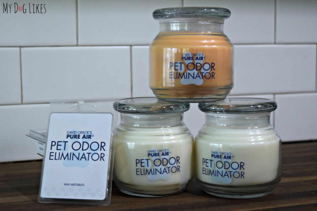 MyDogLikes reviews David Oreck's Pure Air Candles to see how well they can tackle the odors of our multi-dog household.