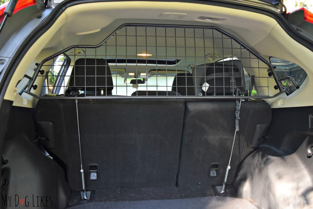 Travall Guard after installation in Honda CRV