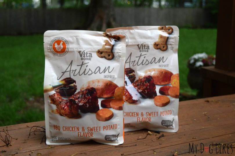 MyDogLikes reviews Vita Bone Artisan Inspired Dog Biscuits