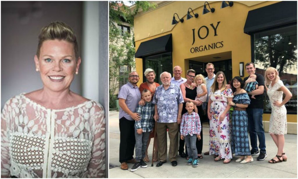 Joy Smith and family of Fort Collins Colorado
