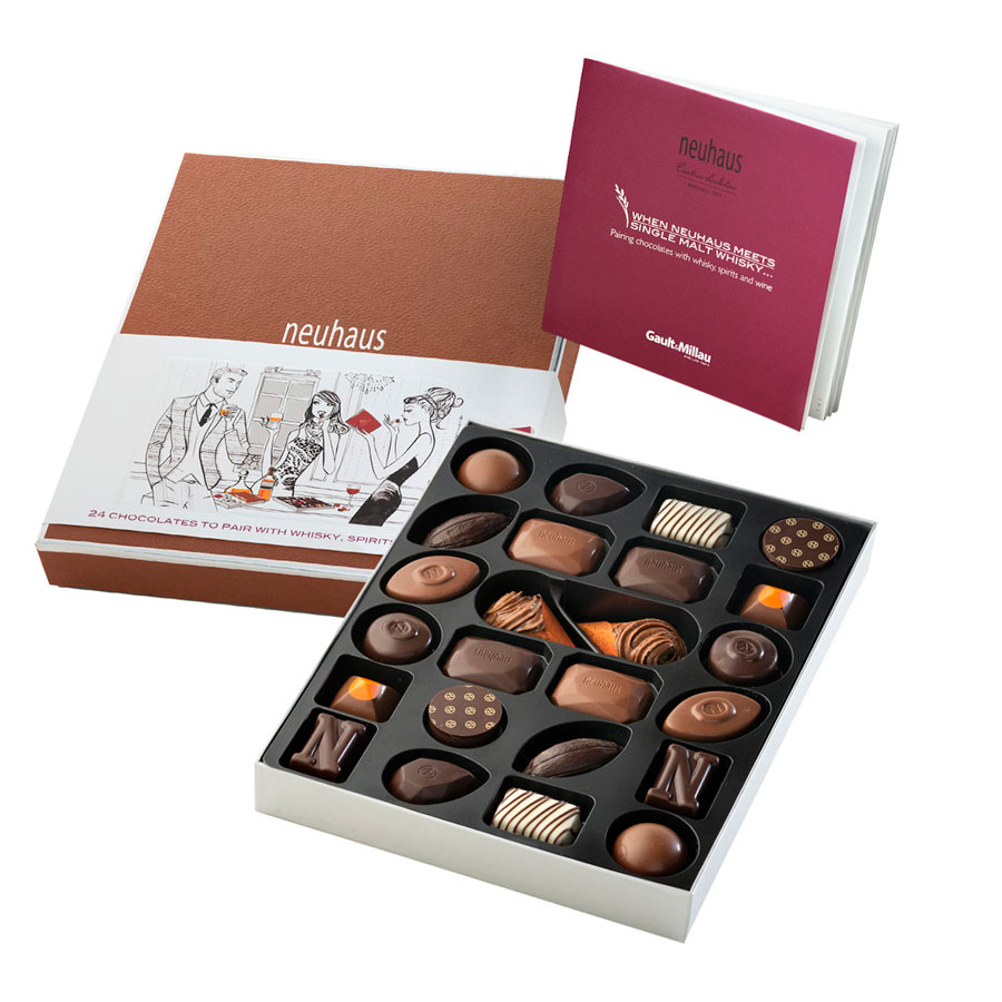 Neuhaus chocolate sommelier collection toronto canada delivery order online