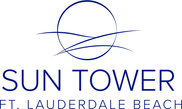 Sun Tower Hotel and Suites Logo Blue