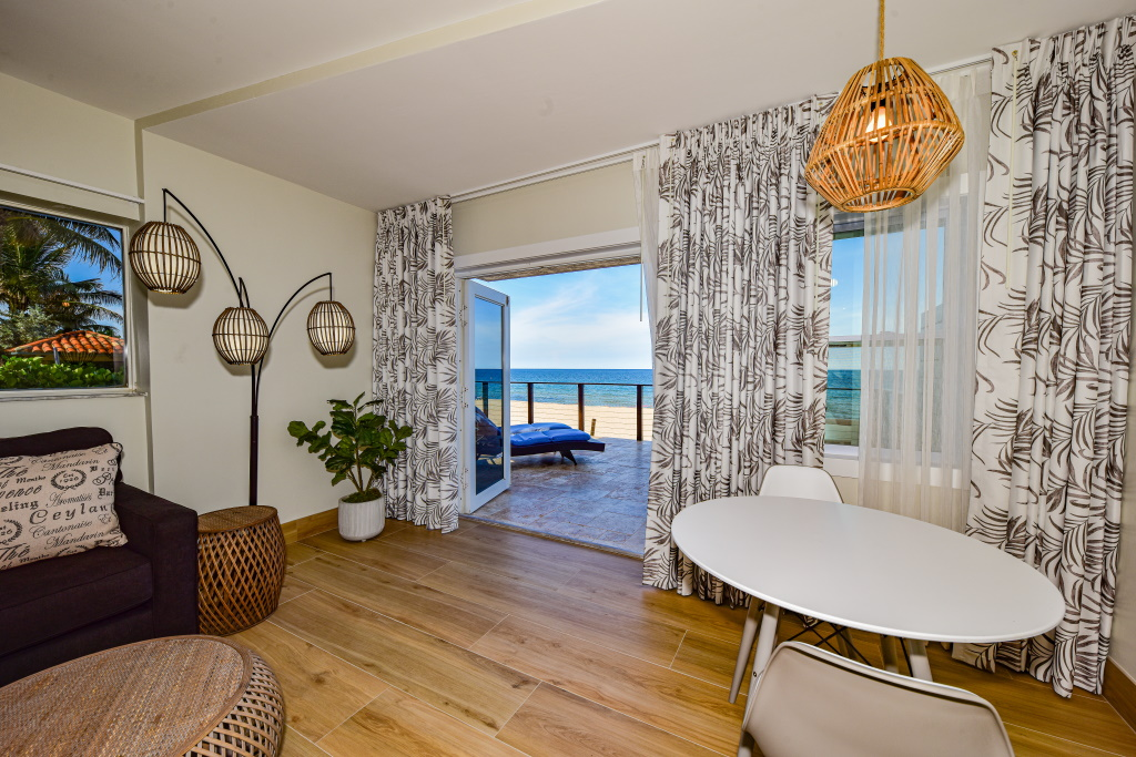 Interior Oceanfront Deluxe Suite with King Bed