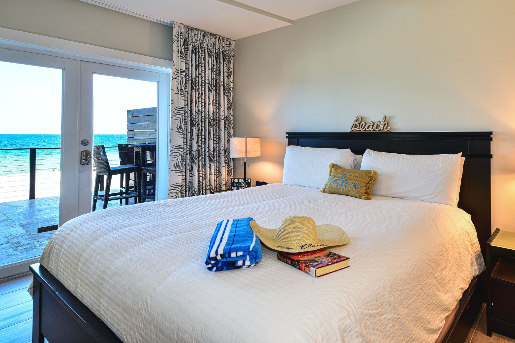 Interior of the Oceanfront Junior Suite