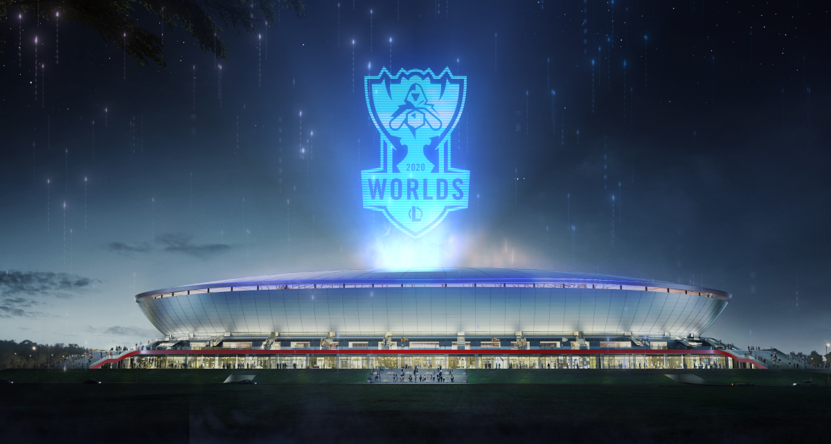 LoL Worlds 2020 Finals Venue Pudong Soccer Stadium