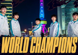 Damwon gaming winners of worlds 2020