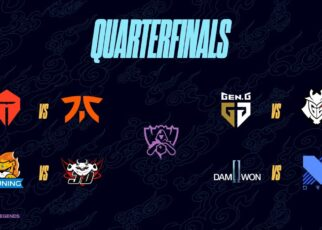 Worlds 2020 Quarterfinals Draw
