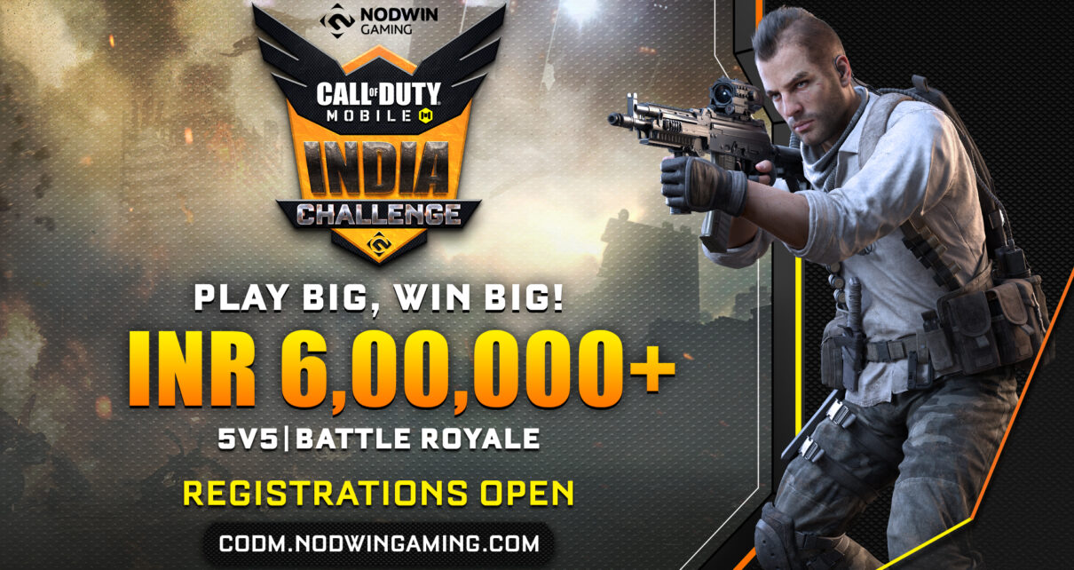 Call of Duty Mobile Tournament poster by NODWIN Gaming