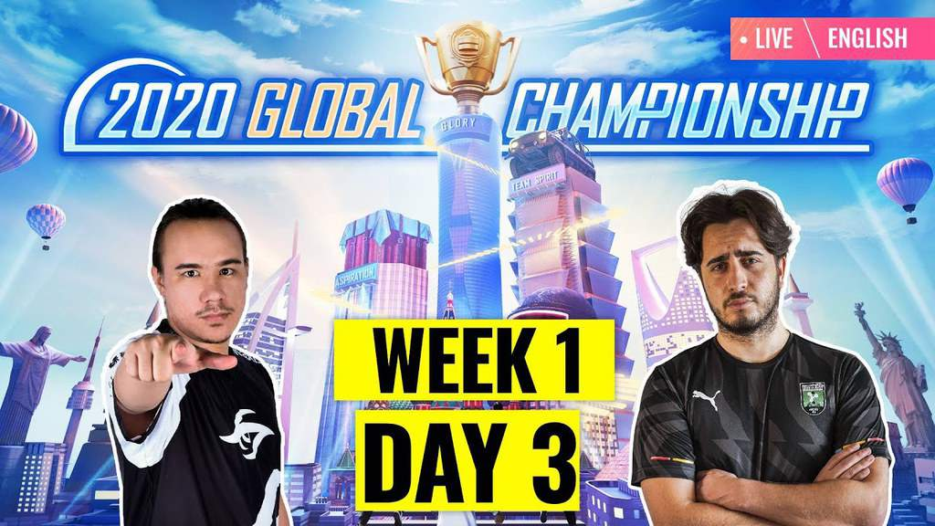 PUBG Mobile PMGC Day 3 Super Weekend 1 Overall Standings