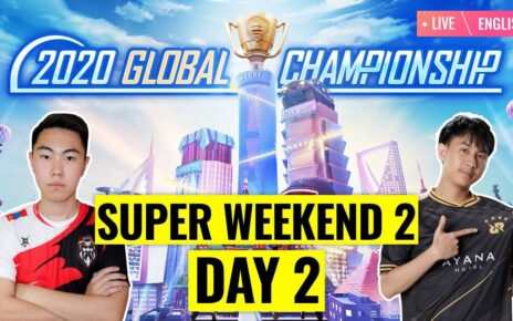 PMGC Superweekend 2 Day 2 Overall standings