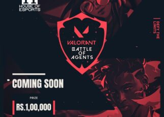 Valorant Battle of Agents Indian Tournament Poster by Immortals Gaming
