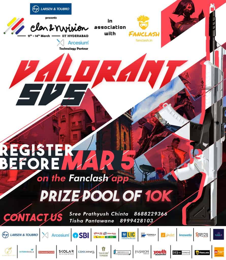 Elan and nVision College Fest To Host Rs10k VALORANT Event