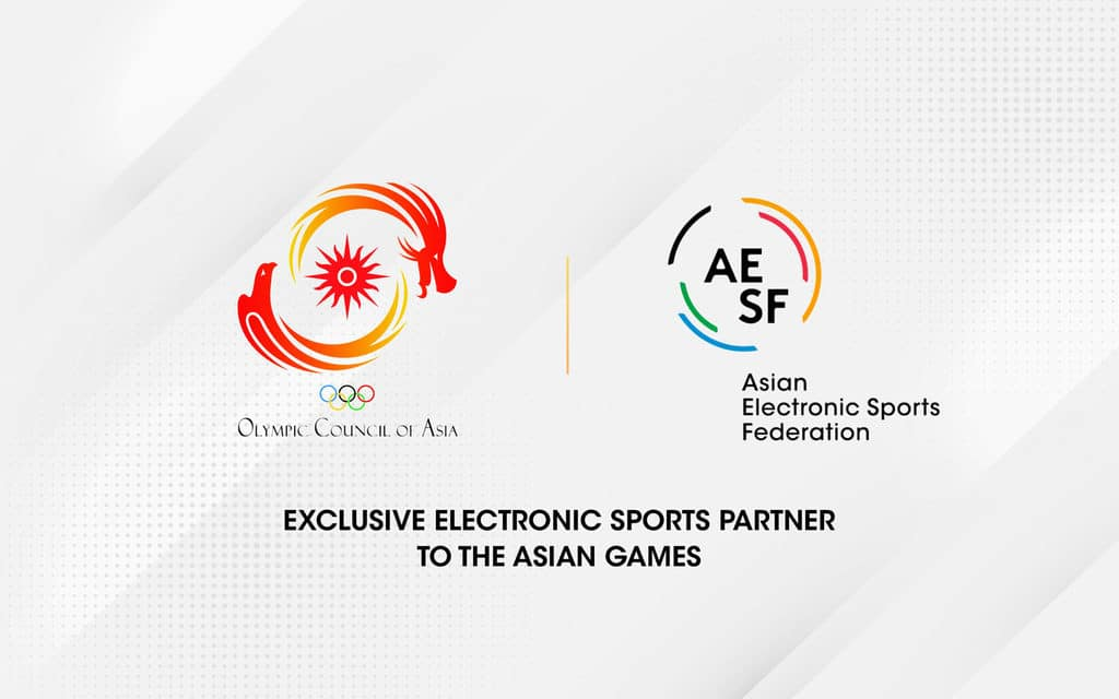 OCA and AESF Announce 2022 Asian Games Esports Roadmap