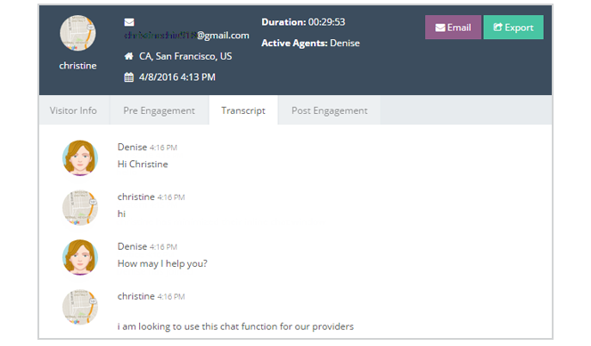 Never Lose Track of Your Chats With Engagement Reports