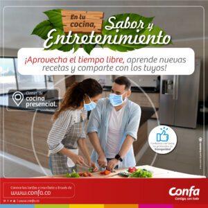 C-Cursos de cocina presencial y virtual -Redes Sociales