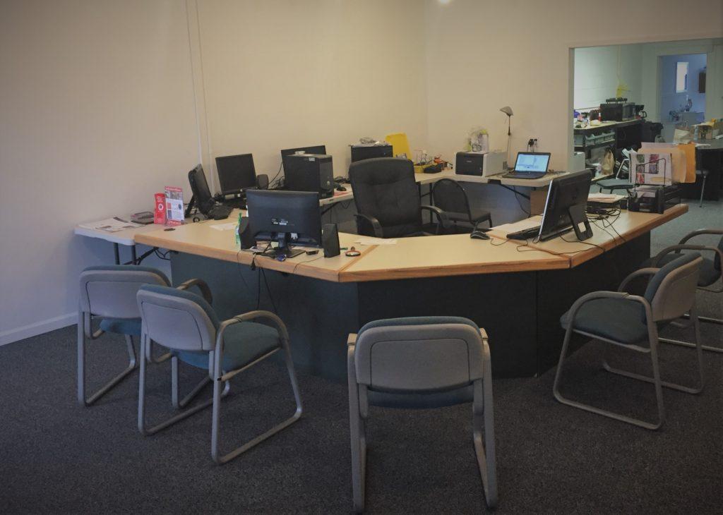Repair tech work-center
