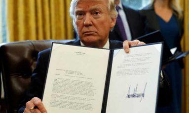 Ordena Trump construir el muro en la frontera con México