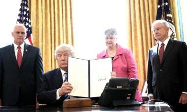 Firma Trump 3 ordenes para terminar con el narco y crimen organizado