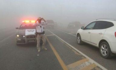 Reabren PFP circulación en carretera a Juárez