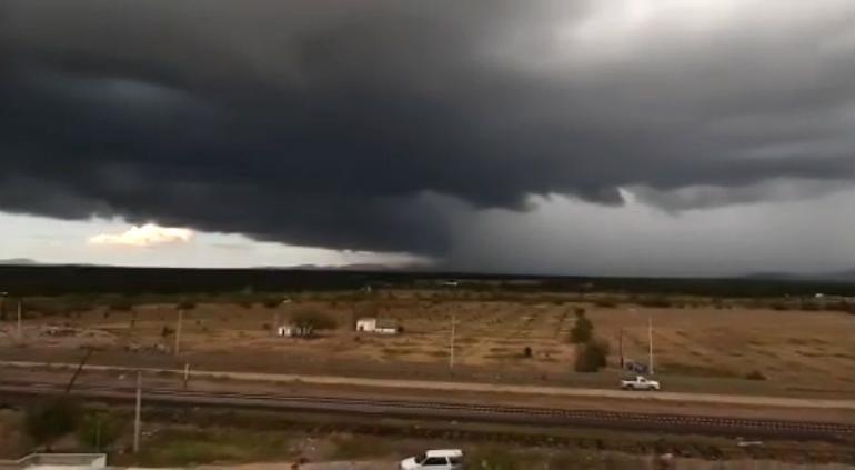Alerta Tiempo Severo que se aproxima fuerte tormenta en La Boquilla