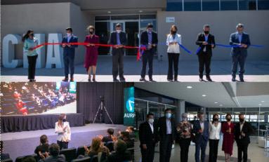Asiste Alcaldesa a inauguración del Centro de Innovación Industrial para el Sector Aeroespacial