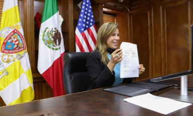 Renueva Alcaldesa acuerdo de Ciudades Hermanas con El Paso